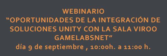 Seminario GAMELabsNet 9 Septiembre